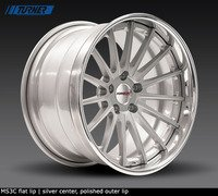 E9X M3, E82 1M Forgeline MS3C 3-Piece Wheel Set