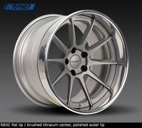 E9X M3, E82 1M Forgeline RB3C 3-Piece Wheel Set