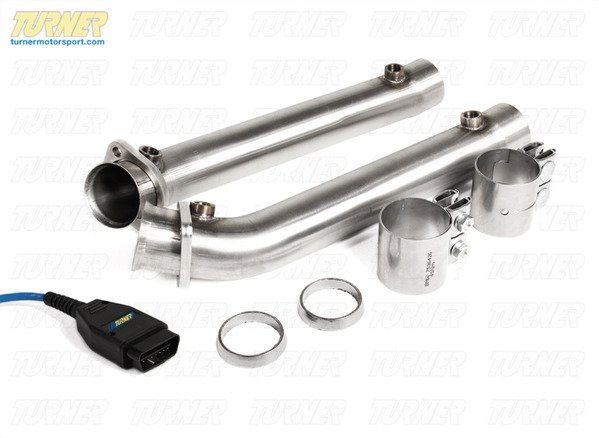 T#340284 - TMS224294 - E9X M3 Turner Test Pipes and Software Bundle - Turner Motorsport - BMW