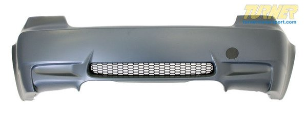 T#340293 - E9XM3RRREP - E9X M3 Replica Rear Bumper Cover - E9X M3  - Turner Motorsport - BMW