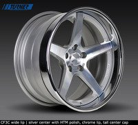 E60 M5 Forgeline CF3C 3-Piece Wheel Set