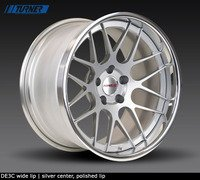 E60 M5 Forgeline DE3C 3-Piece Wheel Set