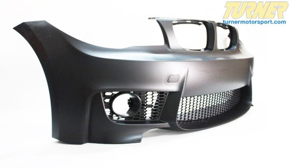 T#340224 - E821MFTBUMP - E82 1M Style Bumper - E82 128i, 135i, 135is - Turner Motorsport - BMW
