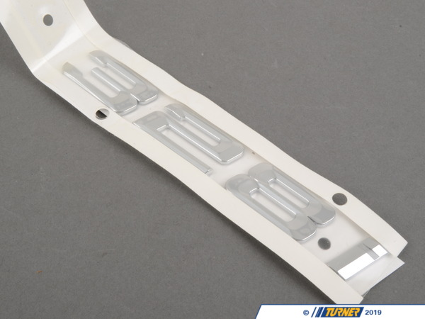 T#81172 - 51147183155 - Genuine BMW Emblem Adhered Rear - 328I - 51147183155 - Genuine BMW -