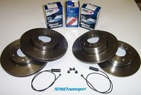 Complete Front & Rear Brake Package - E46 323i/Ci (not Cabrio)