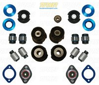 3-series Rear Suspension Mount Package - Rubber Street Bushings - E46 M3