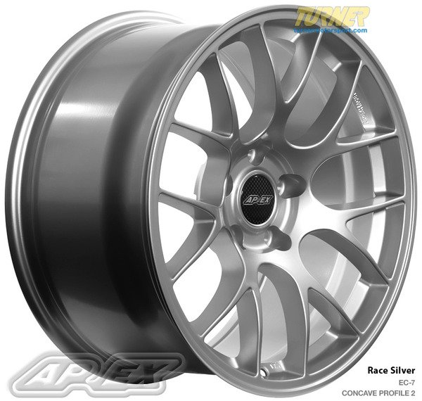 T#340109 - APEX-EC7-E46 - Apex EC7 Light Weight Wheel Set - E46 323i 325i 328i 330i - APEX Wheels -