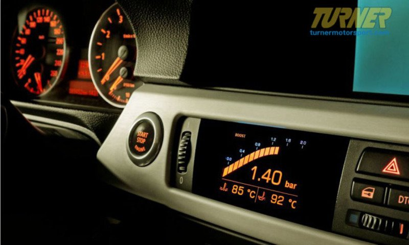 Awron E9x 335i Awron In Dash Performance Boost Gauge