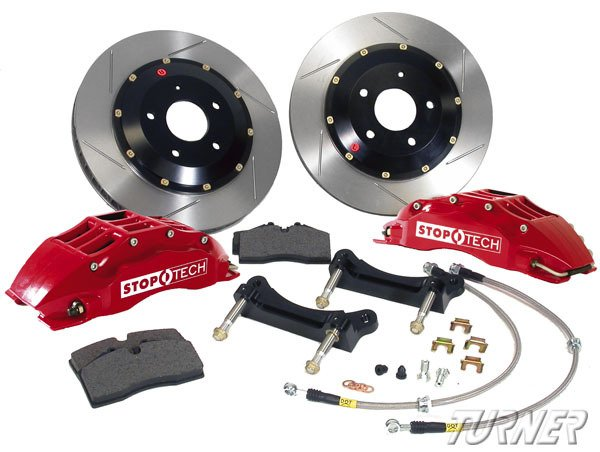 T#340074 - 83.B32.6D00 - StopTech Front Big Brake Kit - F10 535i 550i - StopTech - BMW