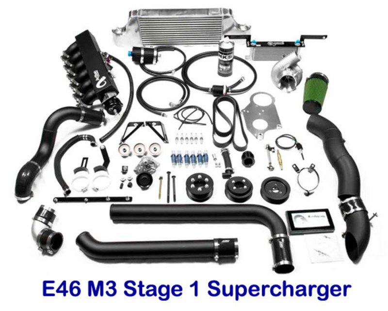 E46 M3 Supercharger Kit By Active Autowerke