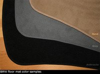 Genuine BMW E82 Floor Mats - E82 128i 135i 1M Coupe