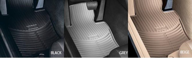 8255015119x Genuine Bmw All Weather Rubber Floor Mats