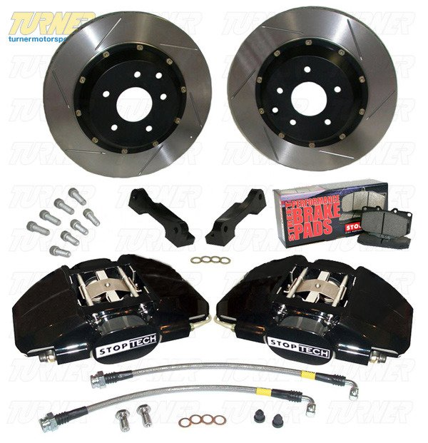 T#340023 - 83.135.002G - StopTech Rear Big Brake Kit - E39 540/M5 - StopTech - BMW