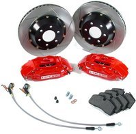 StopTech Front Big Brake Kit - R50/R53 Mini Cooper/Cooper S