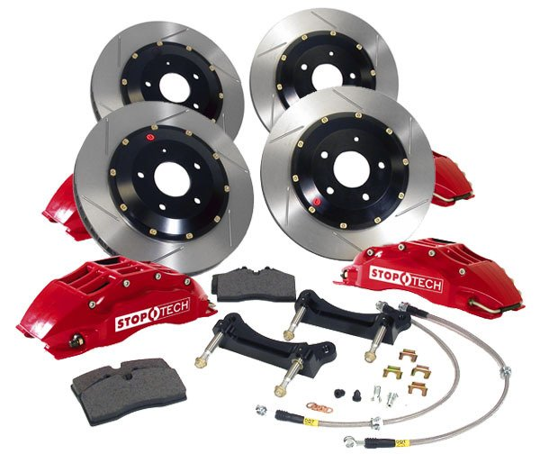 T#340045 - 83.153.6D48 - StopTech Front & Rear Big Brake Kits - E60 M5, E63 M6 - StopTech - BMW