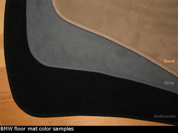 T#339981 - 8211002127X - Genuine BMW E46 Convertible Floor Mats - Convertible Only - Genuine BMW - BMW
