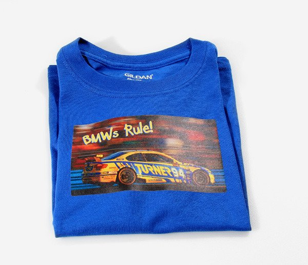 T#338966 - TMS5556 - Turner Motorsport - Rolex Side View - Child's T-Shirt - Turner Motorsport - BMW
