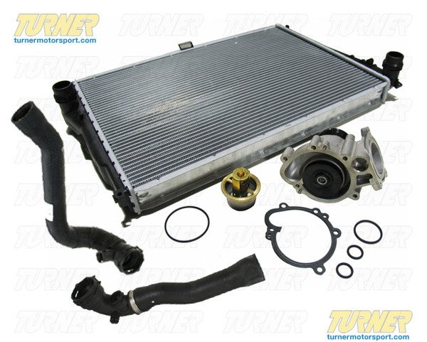T#338740 - TMS338740 - Complete Cooling System Overhaul Package - 2001-2006 E46 M3 - Turner Motorsport - BMW
