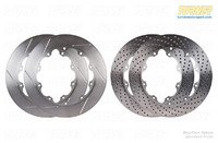 T#338983 - TMS338983 - Wide Annulus StopTech 380x32mm Rotors for Big Brake Kits - Left & Right Pair - StopTech - BMW
