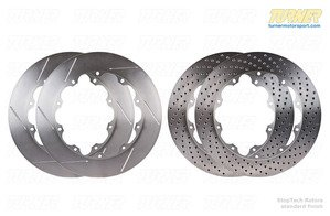 Wide Annulus StopTech 380x32mm Rotors for Big Brake Kits - Left & Right Pair
