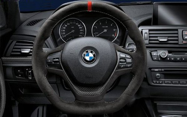 T#338365 - TMS338365 - BMW M Performance Steering Wheel - F30 328i, 335i 2012+ - Genuine BMW - BMW