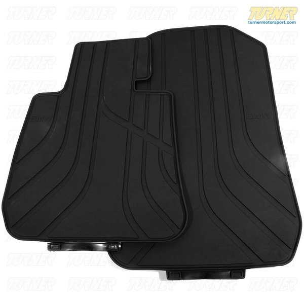 T#338434 - TMS338434 - Genuine BMW Rubber Floor Mats - E92 328i 335i 335is M3 - Genuine BMW - BMW
