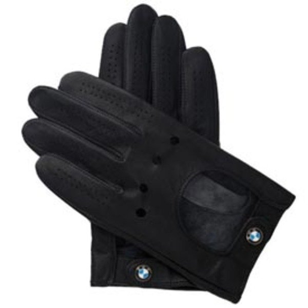 Genuine BMW Genuine BMW Mens Driving Gloves with Roundel Logo TMS338524