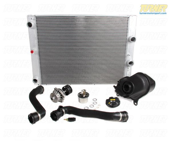 T#338775 - TMS216193 - E60 550i, E63 650i Manual Transmission Cooling Overhaul Package - Packaged by Turner - BMW