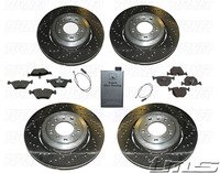 Complete Front & Rear Brake Package - E85 Z4 M Roadster, E86 Z4 M Coupe