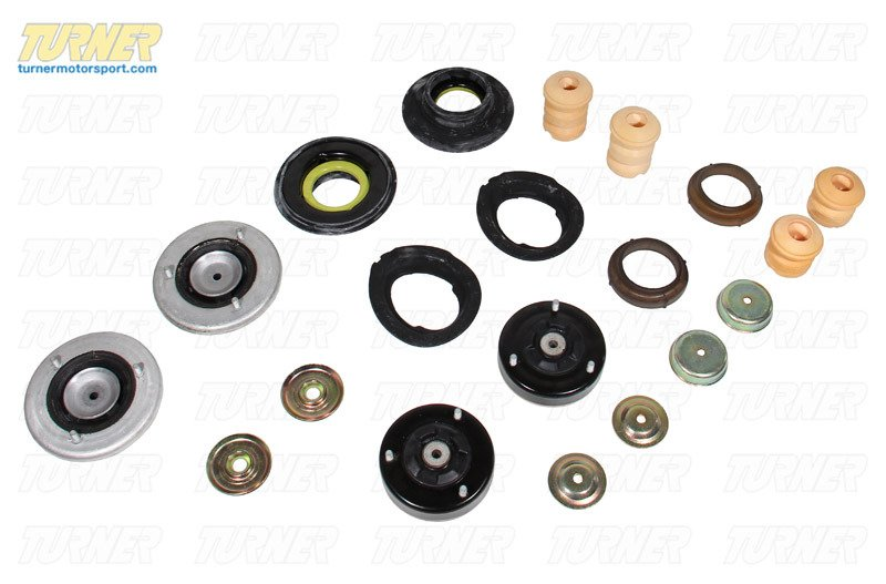 T#338711 - TMS182514 - 5-series Strut/Shock Mount Kit - E39 540i with Factory Sport Suspension - Turner Motorsport - BMW