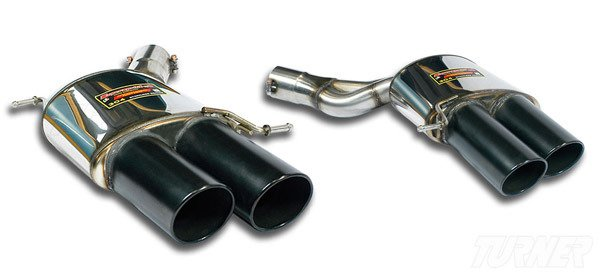T#338831 - TMS183986 - F10 M5 Supersprint Race Mufflers (Set) - Supersprint - BMW