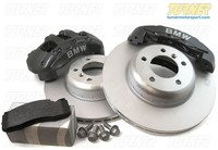 Genuine BMW 6 Piston Front Brake Upgrade Kit for E82/E88 and E90/E91/E92/E93