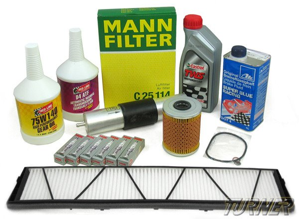 T#338779 - TMS14370 - E60 M5, E63 M6 Maintenance Service Package - Packaged by Turner - BMW
