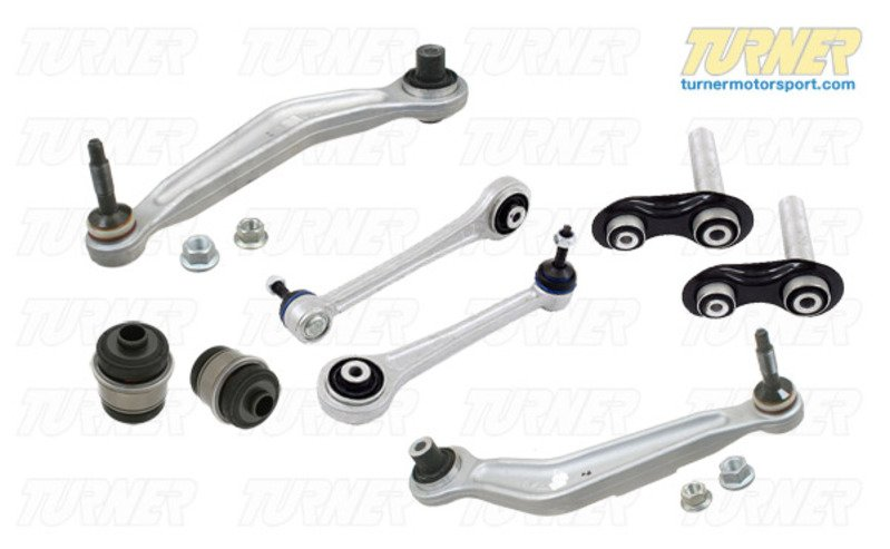 T#338718 - TMS14377 - Complete Rear Control Arm Overhaul Package - E39 - Turner Motorsport - BMW
