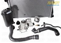 T#338706 - TMS14416 - Complete Cooling System Overhaul Package - 1997-1998 E39 540i - Packaged by Turner - BMW