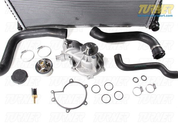 T#338714 - TMS14418 - Complete Cooling System Overhaul Package - 2000-2003 E39 M5 - Packaged by Turner - BMW