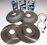 Z3 3.0 Roadster & Coupe Brake Package (Front & Rear)