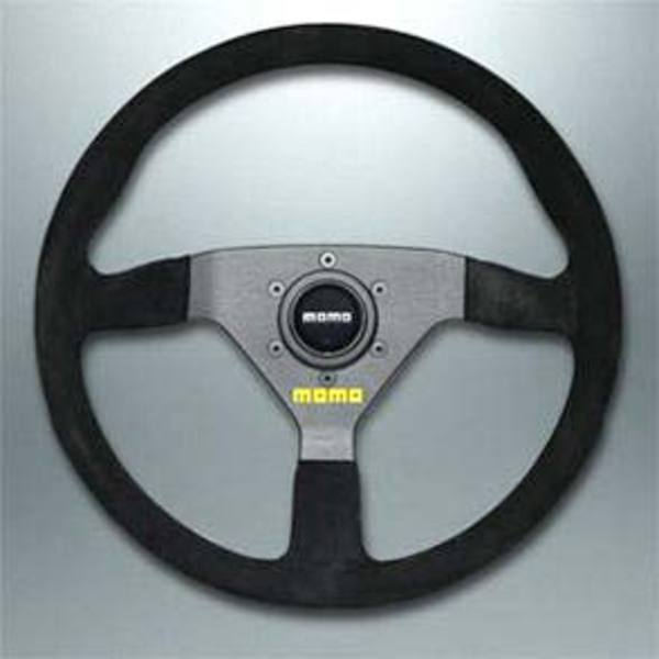 T#338958 - TMS1350 - MOMO mod.78 Suede Steering Wheel - MOMO - BMW MINI
