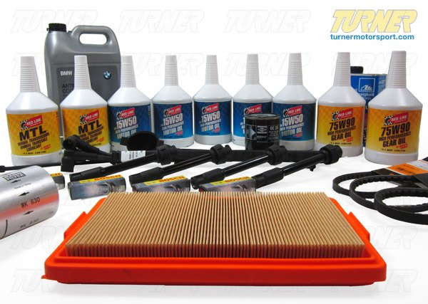 T#338669 - TMS14346 - E34 M5 Maintenance Service Package - Packaged by Turner - BMW