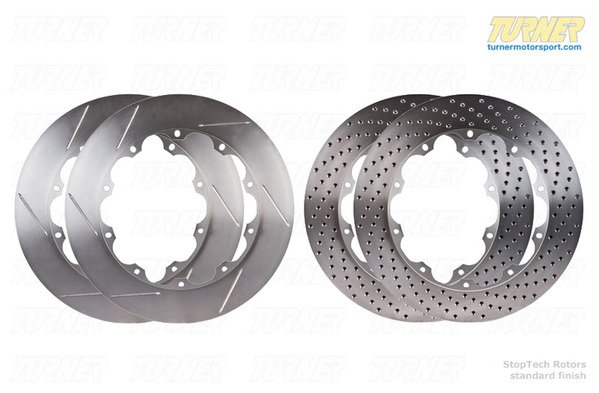 T#338981 - ST0PTECH355X35 - Replacement StopTech 355x35mm Rotors for Big Brake Kits - Left & Right Pair - StopTech - BMW MINI