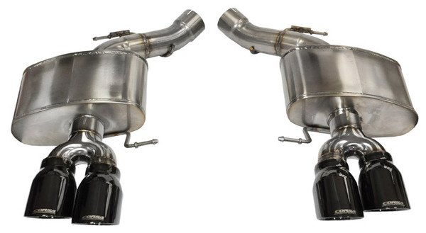 T#339004 - TENF1347 - F13 M6 Turner Axle-Back Sport Mufflers - Turner Motorsport - BMW