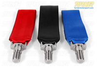 Turner Motorsport Poly Tow Strap With Bolt - Red, Blue, Black - E30 E36 E46 E9X