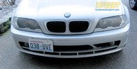 No Holes License Plate Bracket - E46, E39