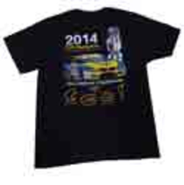 T#338907 - G200-WIN - Turner Motorsport Z4 Racecar 2014 GTD Champions T-Shirt - Black - Turner Motorsport - BMW MINI