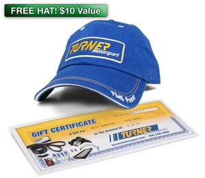 $50 Turner Motorsport Gift Package