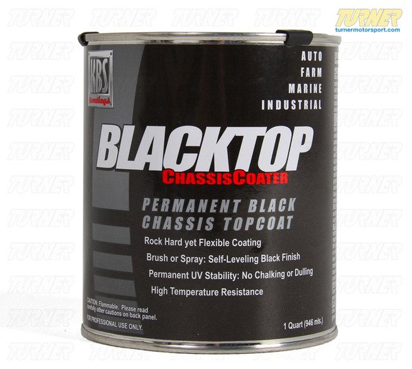 T#338952 - KBS-BLACKTOP - KBS BlackTop Waterproof and Chemical-Resistant Topcoat - KBS - BMW MINI
