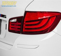 Painted Rear Bumper Reflectors - F10 M5