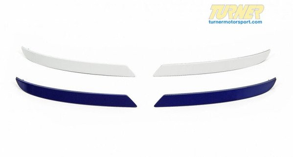 T#338969 - RR-F1XM6 - F12 Painted Rear Bumper Reflectors - F12/F13 M6, F06 M6 GC - Turner Motorsport - BMW