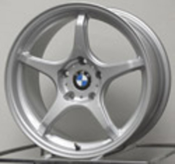 T#338730 - E46-M3-LTW5-95S - E46 M3 D-Force LTW5 18x9.5 Square Race Wheel Set - D-Force Wheels - BMW