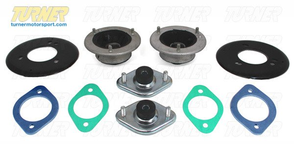 T#338747 - E46MOUNTKIT - 3-series Strut/Shock Mount Kit - E46 (not M3, not xi) - Packaged by Turner - BMW